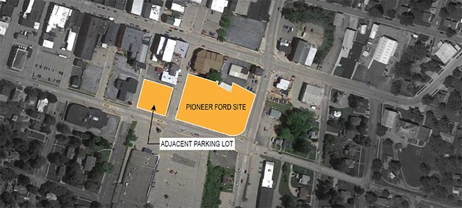 Pioneer Ford Project Map