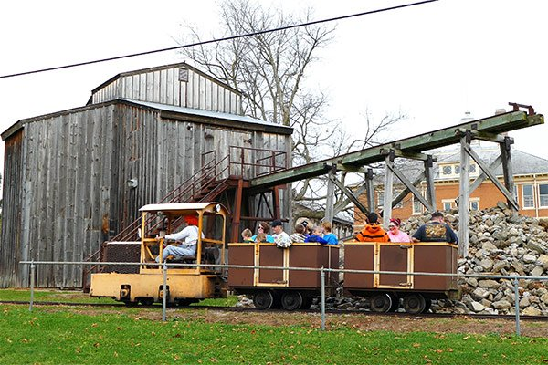 Platteville Mining Museum Train Ride